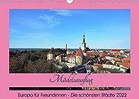 Staedtereisen fuer Freundinnen (Wandkalender 2022 DIN A3 quer): Perfekte Ziele fuer einen Maedelsausflug (Monatskalender, 14 Seiten )