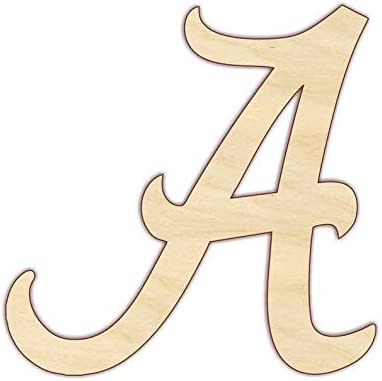 Alabama A Wood Letter Long-awaited 24 hKET901 High material x inches