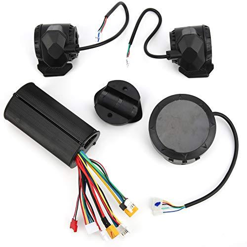 Shipenophy Juego de faros LED de freno de acelerador de pulgar de alta durabilidad 5/5.5/6/6.5 pulgadas E‑Scooter Controlador Digital Pantalla Alta robustez para montar en sendero (24V)