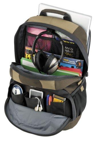Tamrac Zaino Light PC Backpack per PC con Schermo Fino a 17 Pollici, Marrone