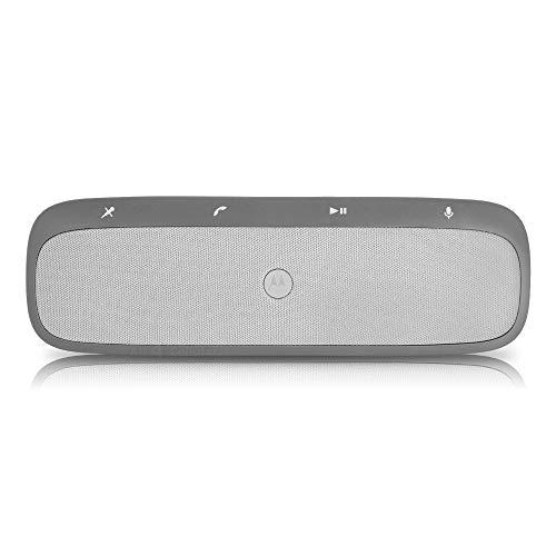 Motorola Roadster Pro Universal Bluetooth In-Car Speakerphone - Retail Packaging - Silver
