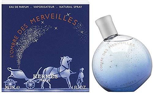 HERMES PARIS L'HOME Des MERVEILLES Eau DE Parfum 30ML Unisex Adulto, Negro, Estándar