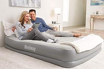 Bestway lit double 203 x 152 x 38 cm, matelas autogonflant avec pompe électrique intégrée