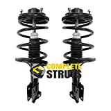 COMPLETESTRUTS – Front Quick Complete Strut Assemblies with Coil Springs Replacement for 2004-2011 Mitsubishi Galant - Set of 2