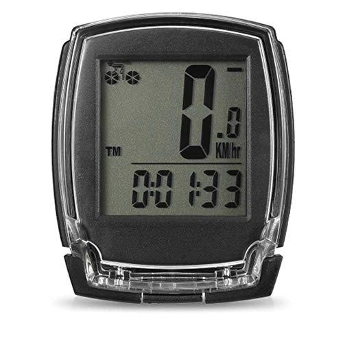 ZDAMN Odómetro de Bicicleta Bicicleta inalámbrica Computadora Speedómetro Digital Bicicleta Odómetro Termómetro...