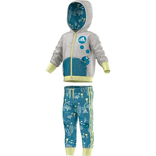 adidas Inf Dydoryjogse Disney Chandal, niño, Multicolor (Brgrin/Azuart), 86