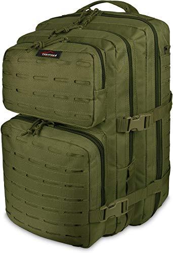 normani US Assault Pack Rucksack Laser Tec Farbe Oliv Größe 50 Liter