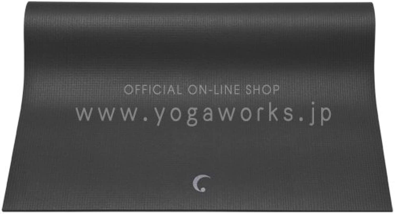 ヨガワークス(Yogaworks) プラネット サダナ4.2mm ブラック YW-A109-C021