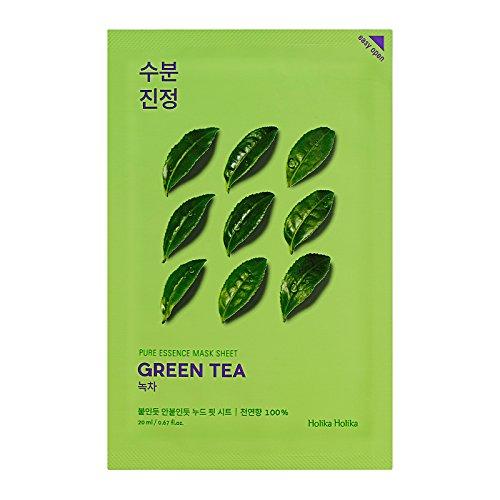 Holika Holika - Pure Essence Mask Sheet Green Tea Green Tea Face Mask...