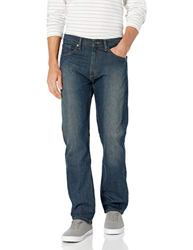 Signature by Levi Strauss & Co Men's Regular Jean, Sterling, 36x34