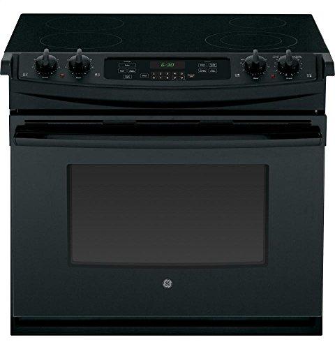 GE JD630DFBB Electric Smoothtop Range Oven