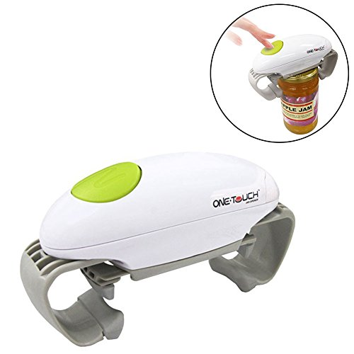 As-onTV One Touch Automatic Jar Opener Adjustable Easy Can Tin Open Tool Sold