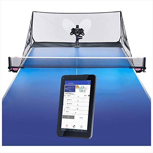 Butterfly Amicus Prime Table Tennis Robot—Best Ball...