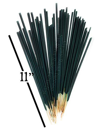 Farm Raised Candles 100 Pack Mintronella Natural Mosquito Repellent Gnats Insect Patio Sticks. USA Hand-Crafted with Citronella Lemongrass and Peppermint Essential Oils Balcony Yard Party