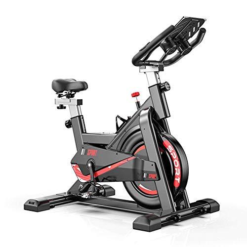 LCLLXB Cyclette da Casa Pieghevole Bike Allenamento Corpo Cardio Trainer,Sedile Regolabile e Manubrio per Allenamento a casa Cardio