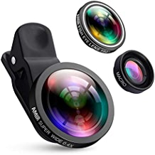 Criacr (Upgraded Version) Phone Camera Lens, 0.4X Wide...