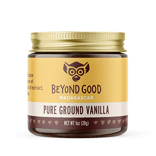 Pure Ground Vanilla Powder | Pure Madagascar Grade A Ground Vanilla Beans for Bakers, Chefs, Ice Cream Makers, and Home Cooks | Beyond Good Vanilla