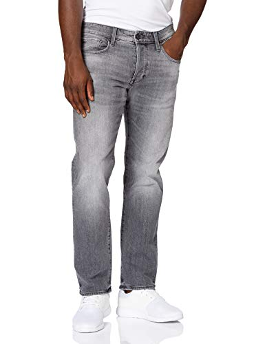 G-STAR RAW Herren 3301 Straight Classic' Jeans, Faded Anchor C530-C282, 32W / 30L