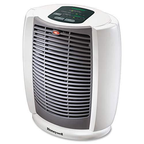 Honeywell Deluxe EnergySmart Cool Touch Heater, White
