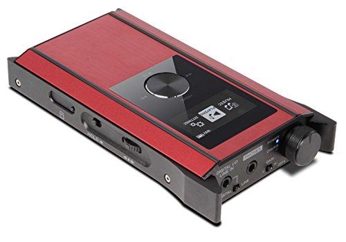 Teac Hi-Res Corresponding Portable Amplifier Player HA-P90SD-R Red/Black