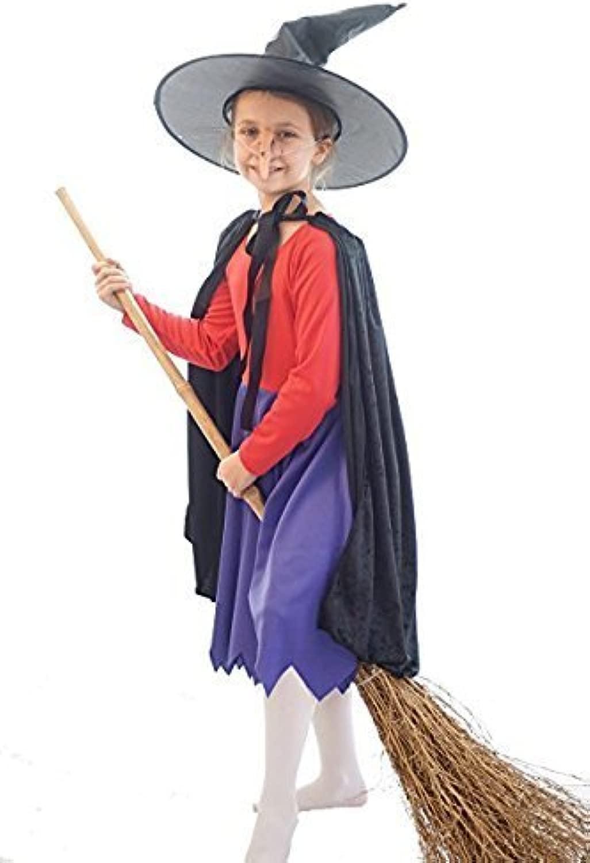 Libro Del Mondo giorno-Htuttioween-fantasia Abito-strega telecamera SUL SCOPA COSTUME DA STREGA - tutte le età - 5-6 years