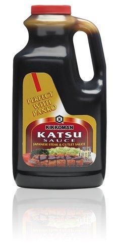 Kikkoman Tonkatsu (Katsu) Japanese Steak and Cutlet Sauce 2.1 Kilogram (4 Pound 11 Ounce)