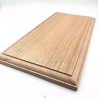 木製飾り台 長方形 ユーカリ 15mmX150mmX300mm P78