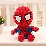 A9TEN Spiderman Plush Toys for Kids, 10' Inch Superhero Stuffed Plushie Dolls Gift for Boys Children