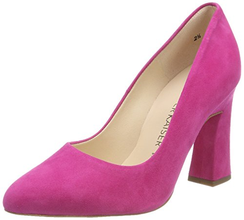 Peter Kaiser Damen KAROLIN Pumps, Rot (Berry Suede), 41 EU