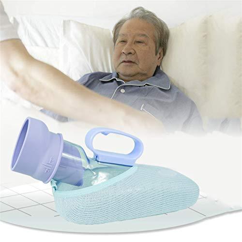 WSN Männer Dickes festes tragbares Urinal, Urinsammlung für Krankenhaus, Inkontinenz, Flaschen Home Urinal Potty