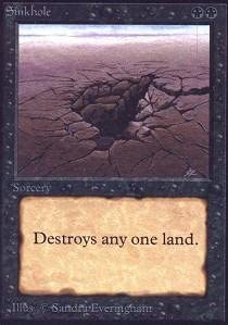 Magic: the Cheap super special Free Shipping New price Gathering Sinkhole Unlimited -
