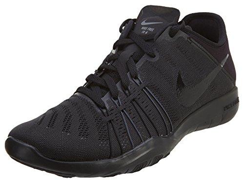 Nike Herren Air Huarache Laufschuhe - Schwarz/Schwarz/Schwarz, 42