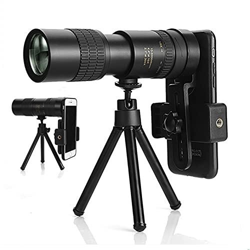 WENCD -2021 4K 10-300X40mm Super Tele Zoom Monoculario Telescopio Con BAK4 Prisma Lente Para Reizen Strand Actividades al aire libre Deporte