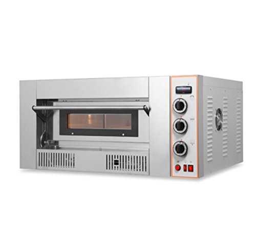 Resto Italia Schamottstein Profi Pizzaofen Gas 450 Grad 13,2 kw