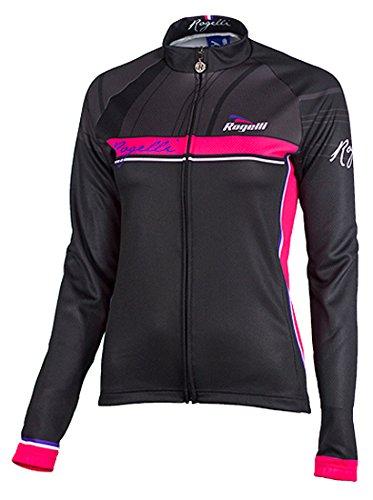 Rogelli Radsport Trikort Langarm Simona - Maillot de Ciclismo para Mujer, Color...