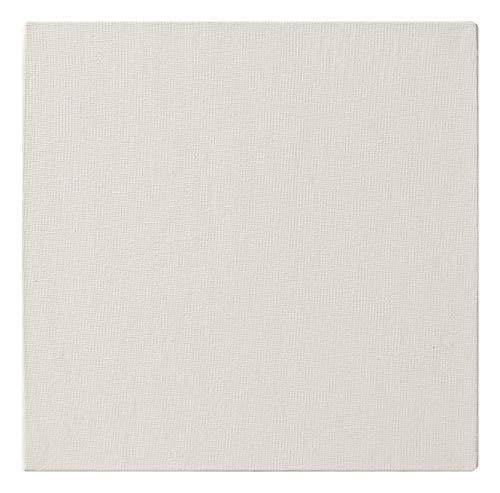Clairefontaine 34156C - Un carton à peindre avec enduction blanche 20x20 cm (format carré), épaisseur 3mm, toilé blanc