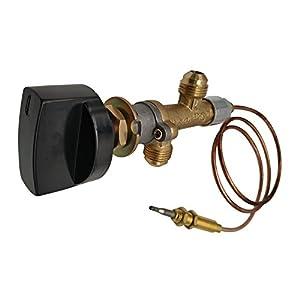 MENSI Kit de vanne de contrôle de sécurité pour cheminée à gaz Propane Basse Pression LPG