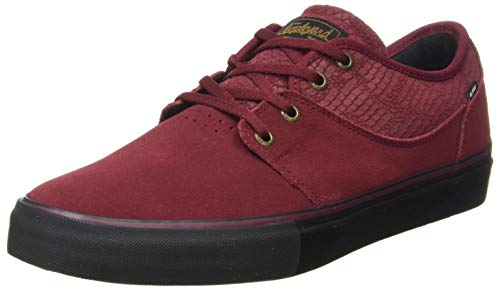 Globe Unisex Mahalo Skateboard Shoe, Wine Snake, 42.5 EU