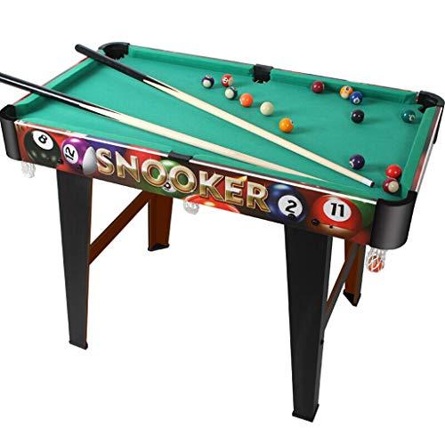TY-Pool Table MMM@ Billardtisch Große Kinder Billard Desktop Home Holz American Indoor Boy Spielzeug Umweltfreundlich Harz Billard Massivholz Clubs Flexible Tasche