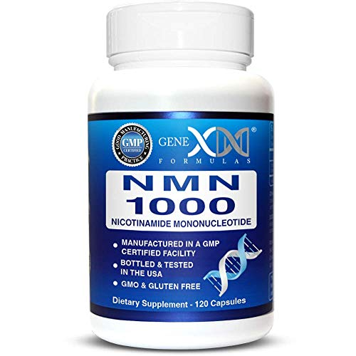 NMN Stabilized Form 1000mg Per Serving Nicotinamide Mononucleotide Direct NAD+ Supplement (120 Capsules)