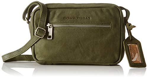 Cowboysbag Damen Bag Eden Umhängetasche, Grün (000905-Moss), 4,5x13x20 cm