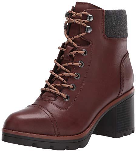 Naturalizer womens Varuna Booties,Chocolate Wp Leather,9 M