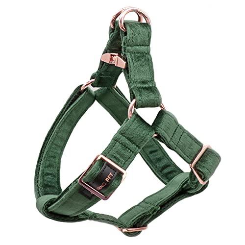 ARING PET Dog Halter Harness, Velvet Dog Harness, No Pull Dog Halter Harness for Small Medium Large Dogs.