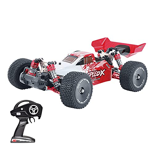 KGUANG Adultos RC Racing Car 4WD 60 km/h Alta Velocidad 4 × 4 Fórmula 2.4G Control Remoto Buggy Aleación Off-Road Stunt Vehículo de Juguete Adecuado para niños y niñas Mayores de 14 años