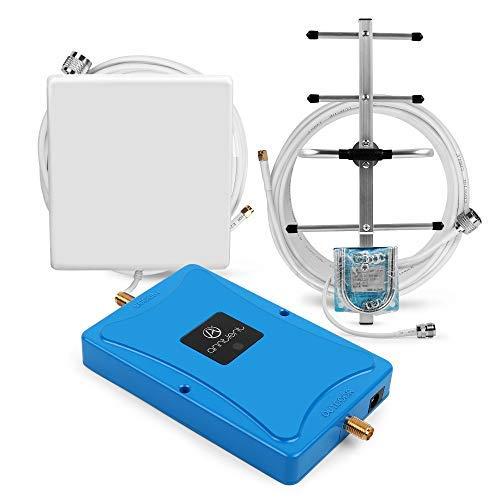 ANNTLENT 4G LTE Handy Signalverstärker Booster 800MHz (Band 20), 70 dB, Daten Verbessern, Hoheleistung, für Haus & Büro.