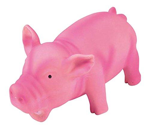 Freund Komfort grogne Pig Hundespielzeug aus Latex 15cm