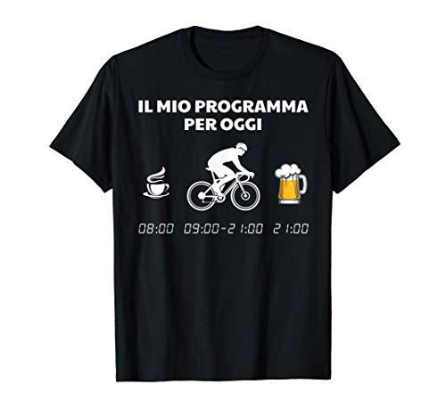Ciclismo Divertente Ciclista Bicicletta Birra Regalo Maglietta