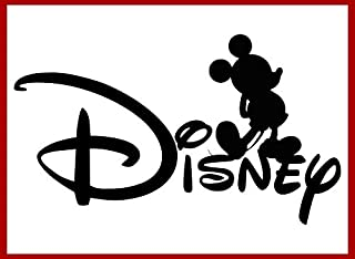 Disney Mickey Mouse Iron-On Transfer Image Graphics for T-Shirts, Pillowcases, Bags, Party Favors, DIY Projects