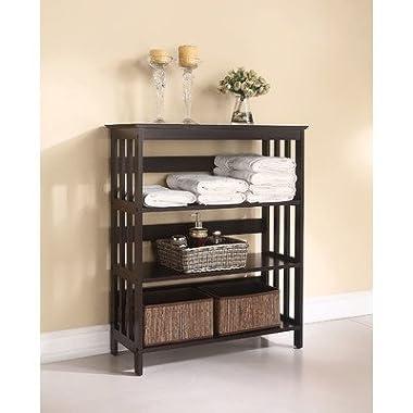 ACME Furniture 92100 Opeli Shelf Rack, Espresso