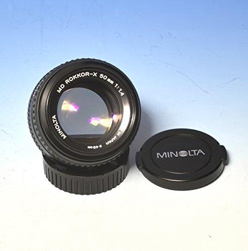 Minolta Rokkor-X 50mm 1:1.4 manual focus lens